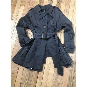 Short Swing Trench Coat